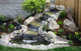 Garden Waterfall Ideas Best 25 Backyard Waterfalls Ideas On Pinterest Water Falls Small