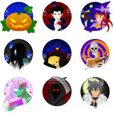 Halloween Monster Pics Funny Halloween Monster Icons Stock Photo 599984858 Istock