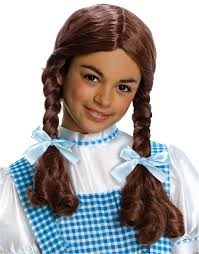 toddler halloween wigs dorothy wig child halloween accessory walmart com