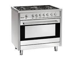 gaz electrique cuisine cuisinière à gaz 5 feux sur four électrique bartscher finarome