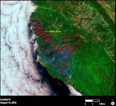 California Wildfire Names by Earthview U2013landsat Shows Spread Of Soberanes Fire
