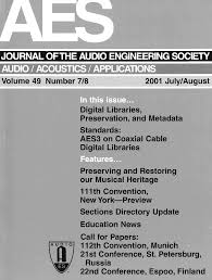 aes e library complete journal volume 49 issue 7 8