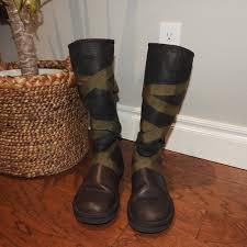 ugg shoes australia brown boots poshmark 71 ugg shoes ugg australia rina brown with ribbon boots size