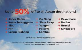 airasia bandung singapore airasia launches visit asean 50 caign with up to 50 flash sale