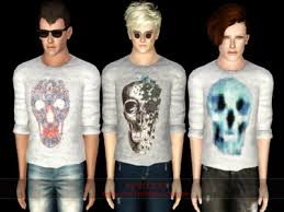 Sims 3 Men Custom Content | male clothes sweaters for males the sims 3 custom content sims