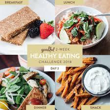 Buzzfeed Challenge Day 1 Of The Goodful 2 Week Healthy Challenge 2018
