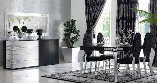 silver dining room silver dining room table elegant cool black and silver dining room