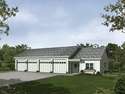 Four Car Garage House Plans Rainey Six Car Garage And Shop Plan 009d 7518 House Plans And More