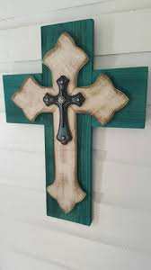 wall crosses unique shabby chic wall cross sale rustic pallet cedar wood