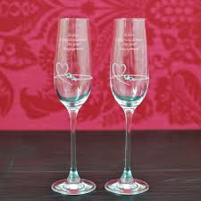 Wine Glass Gifts Engraved Champagne Glasses And Flutes U2013 Personalised Champagne