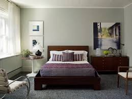 purple comforter and grey carpet for elegant small bedroom ideas