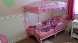 Disney Princess Toddler Bed Stunning Disney Princess Toddler Bed With Canopy With A Princess