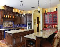 spanish revival colors colonial kitchens home interiror and exteriro design home