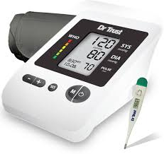 dr trust silverline fully automatic blood pressure monitor u0026 dr