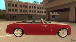 roll royce gta rolls royce phantom drophead coupe 2013 for gta san andreas