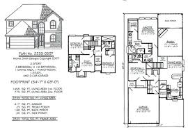 5 bedroom 2 story house plans 4 bedroom 4 bath house plans biggreen club