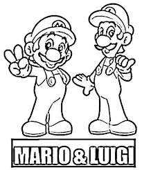 coloring pages super mario super mario bros special