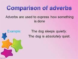 comparison of adverbs authorstream