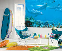 dolphin pre pasted xl wallpaper mural kids xl murals fantasy art products images