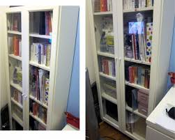 Bookshelf Glass Doors Furniture U0026 Accessories Design Of Ikea Bookshelves With Glass