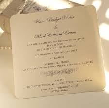 wedding invitations ni classic personalised wedding invitation by beautiful day