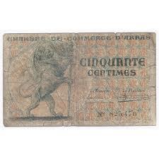 chambre de commerce arras 62 arras chambre de commerce 50 centimes 1922 beau