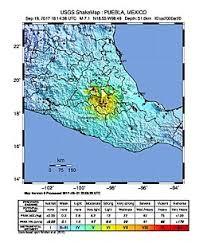 map central mexico 2017 central mexico earthquake
