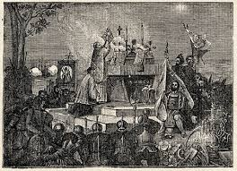the black biretta real thanksgiving catholic mass in 1565