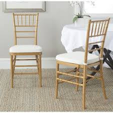Gold Dining Chairs Safavieh Country Classic Dining Gold Dining Chairs Set Of 2