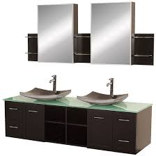 wyndham avara double 72 inch espresso modern wall mount bathroom