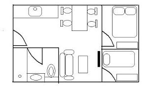 small bedroom floor plans what do you think of this floor plan for a small apartment unit