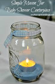 jar baby shower jar baby shower centerpiece crafts diy