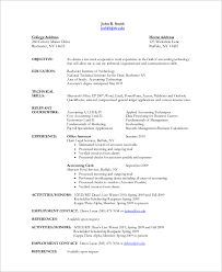Accountant Assistant Resume Sample Sample Accountant Resume 10 Examples In Word Pdf