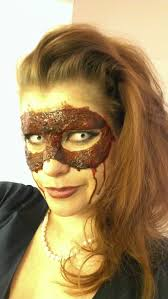 skin mask halloween chrix design bloody masquerade