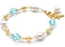 birthstone bracelets for my birthstone 14k gold baby children s beaded