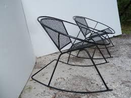 mesh wrought iron patio furniture mid century patio chairs mid century salterini wrought