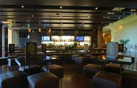 Vegas Storage Bar Table Modern Mexican Restaurant Interior Design With Wall Shelves Wine