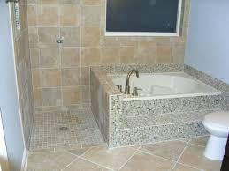 Corner Bathroom Showers Corner Bathtub Shower Combo Small Bathtubs With Best Tub Door In