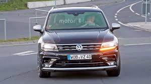 volkswagen jeep tiguan vw tiguan r spied again