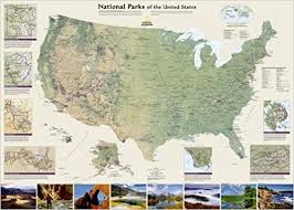map us parks national parks of the united states tubed national geographic