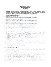 resume customization reasons aix architect resume do 5 things