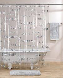 Shower Curtain Clear Clear Shower Curtain Free Home Decor Techhungry Us