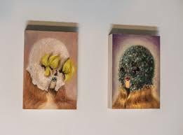 painting artwork on wood miss paintings