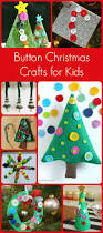 button christmas crafts for kids to make craft holidays and