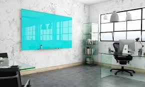 Stylish Office Multi Coloured Glass Writeboards A Stylish Office Addition To