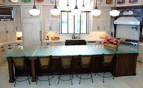 glass top kitchen island glass top kitchen island transitional crates kitchen