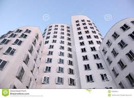 Dusseldorf Germany Map by Futuristic Buildings In Dusseldorf Germany Editorial Stock Image