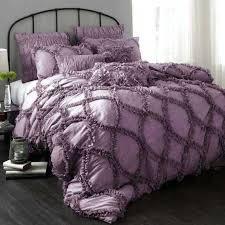 Purple Full Size Comforter Sets Black And Purple Bed Set Smartwedding Co