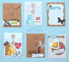 photo album page inserts diy envelopes by vicki boutin scrapbook create your own