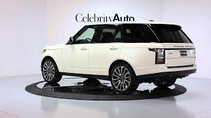 range rover rear 2014 land rover range rover autobiography executive class rear